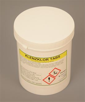 Klenzklor disinfectant - tub of 200 tablets