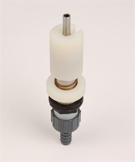 Rinser nozzle for rinser/steriliser sink