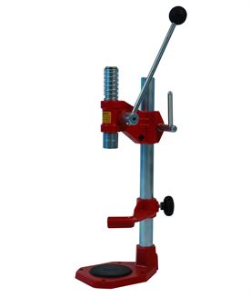 Hand lever crown capping machine