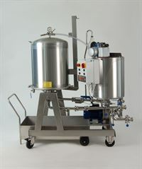 DCBL/50  3 phase earth filter, including exhausted cake trolley (available separately)