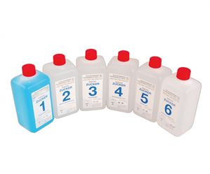 Starter set of solutions for residual sugar test kit
