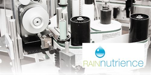 Rain Nutrience - labelling