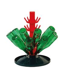 45 bottle bottle drainer tree (bottles not included) - the 80 bottle drainer tree has more tiers