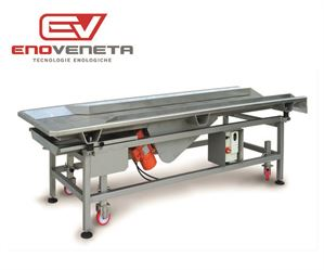 Enoveneta Vibrating table for grape sorting, typeTVC