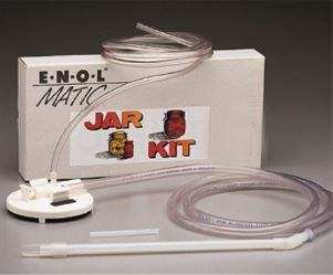 Jar kit for Enolmatic vacuum filler (available separately)