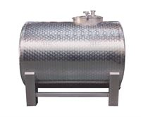 Speidel stainless steel horizontal transport tank, type LD-T
