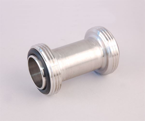 "1½"" RJT male x 1½"" RJT male adaptor (stainless steel)"
