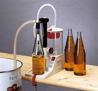 Fruit juice & hot liquids kit shown in use on Enolmatic vacuum filler (available separately)