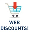 New web discounts!