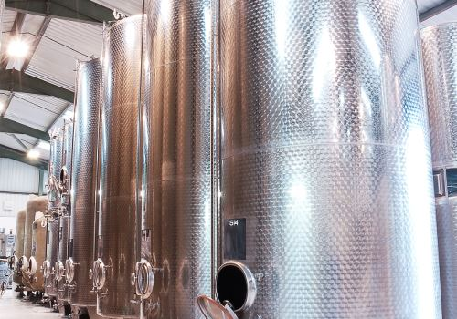 Lyme Bay Winery - tanks