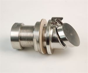 GR37 stainless steel flap valve