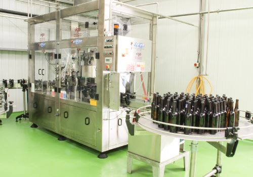 Thornbridge Brewery - bottling line