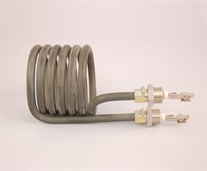 Heating element for heavy duty capsule shrinker