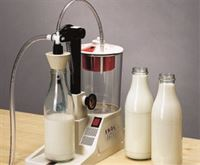 Milk kit shown in use on Enolmatic vacuum filler (available separately)