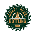 Craft Beer Bottling logo